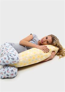 Image de Oreiller de maternité LeJoy Classic; bleucouleur: étoiles beiges CL-105