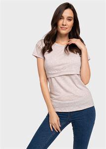 """Bild von """"Dani"""" Still-T-Shirt; Farbe Beige"""