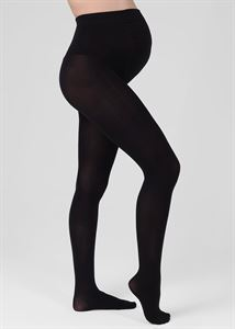 Bild von Baumwollstrumpfhose für Schwangere 300 Den; Farbe schwarz