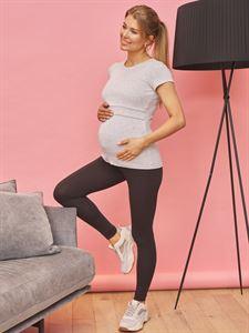 """Obrazek T-shirt """"Vesta"""" dla kobiet w ciąży i karmiących; kolor bezowy"""